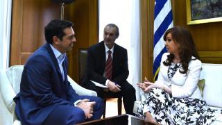 Κρίση και ελληνικός πολιτισμός στο επίκεντρο της συνάντησης Τσίπρα-ντε Κίρχνερ (pics)