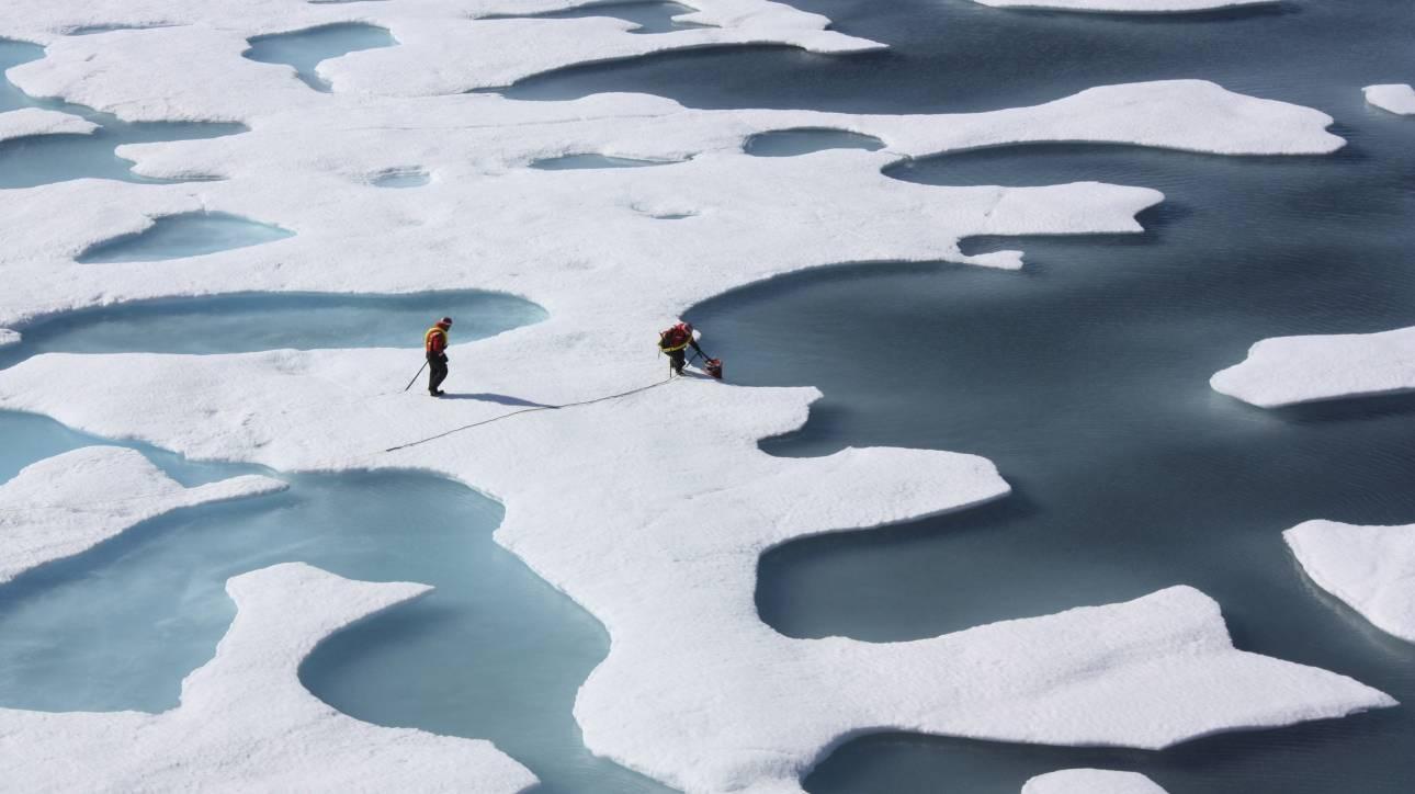 Αμερικανική δέσμευση για έρευνα της κλιματικής αλλαγής στην Αρκτική