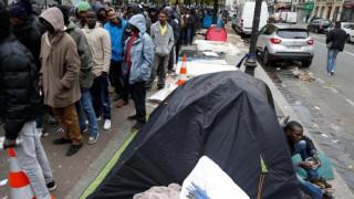 Γαλλία: Απομάκρυνση 1.000 προσφύγων από καταυλισμό λίγο έξω από το Παρίσι