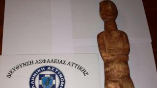 Συνελήφθη 46χρονος που έκρυβε αρχαίο θησαυρό στο σπίτι του στον Άλιμο (pics)
