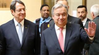 Επιστολή Αναστασιάδη σε Γκουτέρες για το Κυπριακό