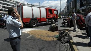 Ένας νεκρός από τροχαίο δυστύχημα στη Λεωφόρο Συγγρού (pics)