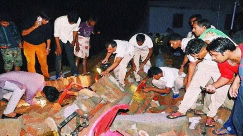 Τουλάχιστον 24 νεκροί σε γάμο στην Ινδία από κατάρρευση τοίχου