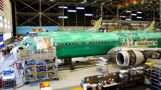 Boeing: Προσωρινή αναβολή των δοκιμαστικών πτήσεων του αεροσκάφους 737 ΜΑΧ