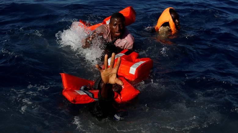 Περισσότεροι από χίλιοι πρόσφυγες πνίγηκαν στη Μεσόγειο το 2017