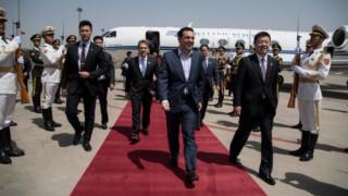 Το tweet του Τσίπρα από το Πεκίνο - Με ποιους ηγέτες θα συναντηθεί