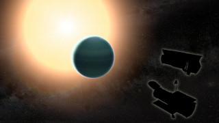 Πρωτόγονη ατμόσφαιρα ανακαλύφθηκε γύρω από έναν μακρινό «θερμό Ποσειδώνα»