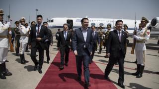 Κίνα: Με Ζορμπά και Θεοδωράκη υποδέχτηκαν τον Αλέξη Τσίπρα στο Κέντρο Ελληνικών Σπουδών
