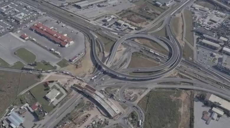 Θεσσαλονίκη: Αρχίζουν τη Δευτέρα εργασίες για την ολοκλήρωση του ανισόπεδου οδικού κόμβου Κ16