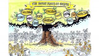 Sweet Europe: Έκθεση γελοιογραφίας στο Μετρό Συντάγματος