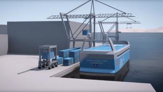 Επανάσταση στην ναυτιλία: Έρχεται το πρώτο ηλεκτρικό φορτηγό πλοίο (Pics+Vid)