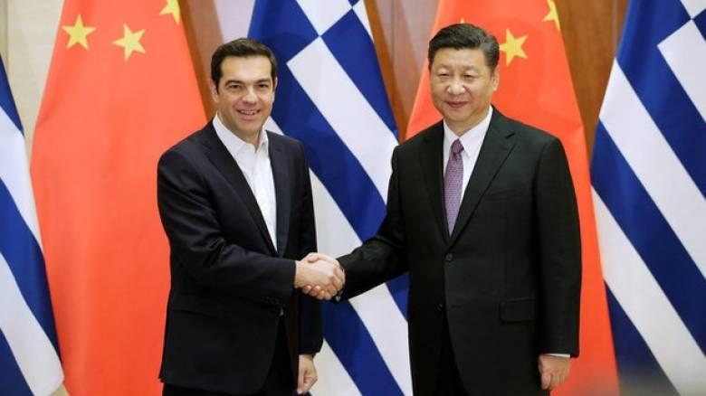 Τσίπρας από Πεκίνο: Η Ελλάδα βλέπει πλέον καθαρά την έξοδο από την κρίση