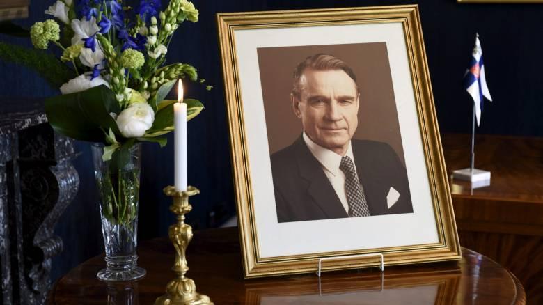 Φινλανδία: Πέθανε o Μάουνο Κοϊβίστο ο πρόεδρος που έβαλε τη χώρα στην ΕΕ