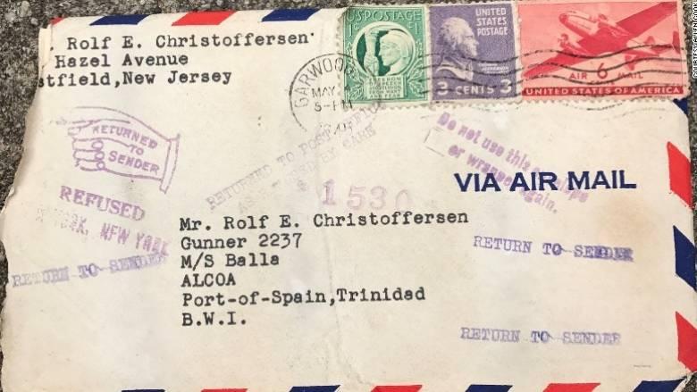 Ένα ερωτικό γράμμα βρήκε τον παραλήπτη του μετά από 72 χρόνια