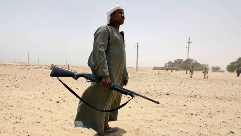 Κρυψώνα τρομοκρατών στο Σινά «ξεσκέπασε» ο αιγυπτιακός στρατός