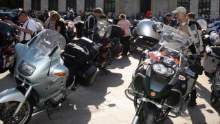 Πορεία διαμαρτυρίας μοτοσικλετιστών στη Θεσσαλονίκη