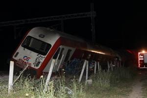 Εκτροχιασμός τρένου έξω από την Θεσσαλονίκη