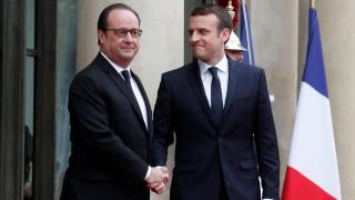 Ο Εμανουέλ Μακρόν και επίσημα νέος πρόεδρος της Γαλλίας (pics)