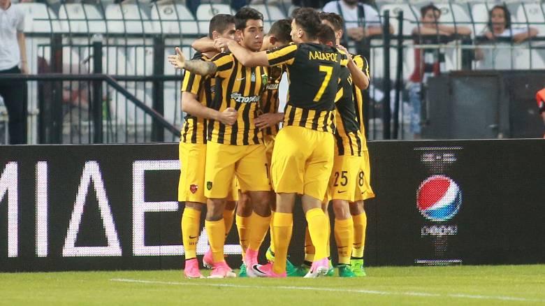 Super League: Νίκη της ΑΕΚ μέσα στην Τούμπα στην πρεμιέρα των Play Offs