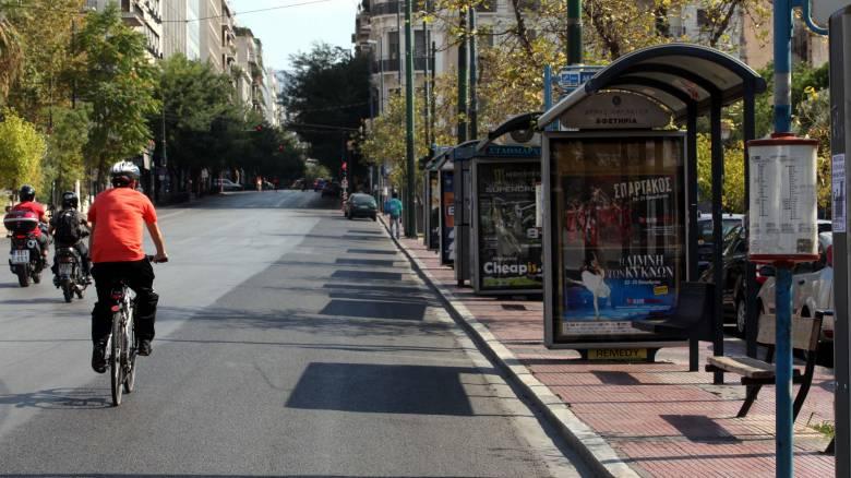 Χειρόφρενο στα λεωφορεία της Θεσσαλονίκης