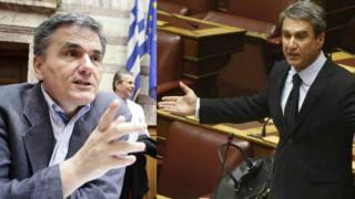 Ο Λοβέρδος στον Τσακαλώτο: Δεν φοράτε παντελονάκια - Τι απάντησε ο υπουργός