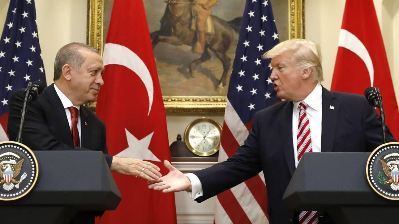 Τραμπ - Ερντογάν: Το Κουρδικό συνεχίζει να τους διχάζει