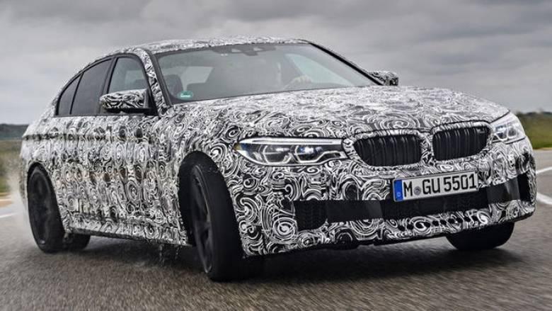 H νέα M5 της BMW θα έχει περισσότερους από 600 ίππους και high tech τετρακίνηση