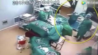 Απίστευτες σκηνές: Γιατρός γρονθοκόπησε νοσοκόμα μέσα στο χειρουργείο (vid)
