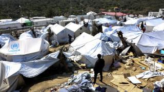 Επεισόδια και σύλληψη στον καταυλισμό προσφύγων και μεταναστών στη Μόρια