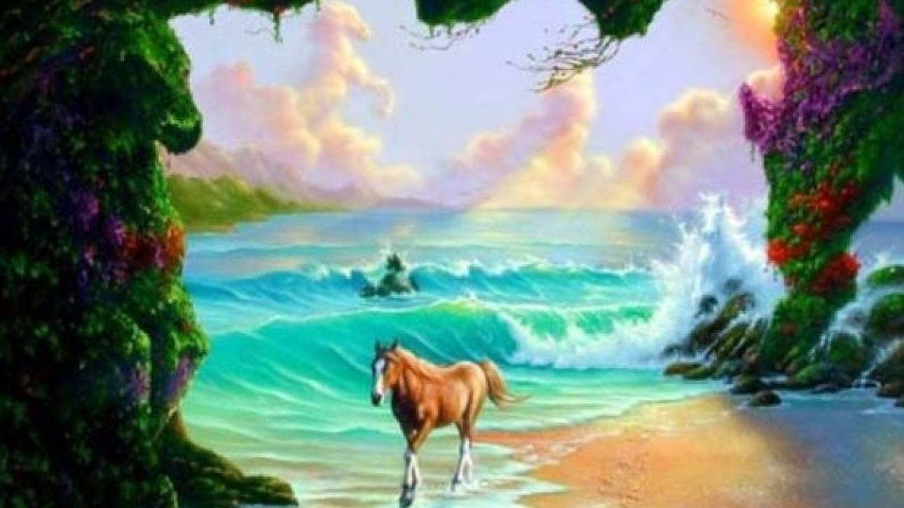 QUIZ: Μπορείτε να εντοπίσετε τα έξι άλογα που υπάρχουν σε αυτή τη φωτογραφία;