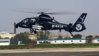 Κίνα: Παρθενική πτήση για το κινεζικό στρατιωτικό ελικόπτερο Ζ-19 Ε (pics)