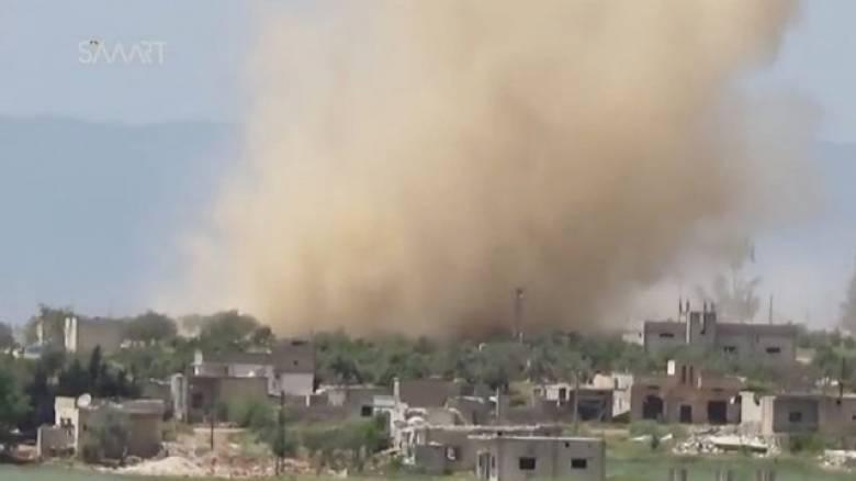 Οι ΗΠΑ βομβάρδισαν αυτοκινητοπομπή του συριακού καθεστώτος