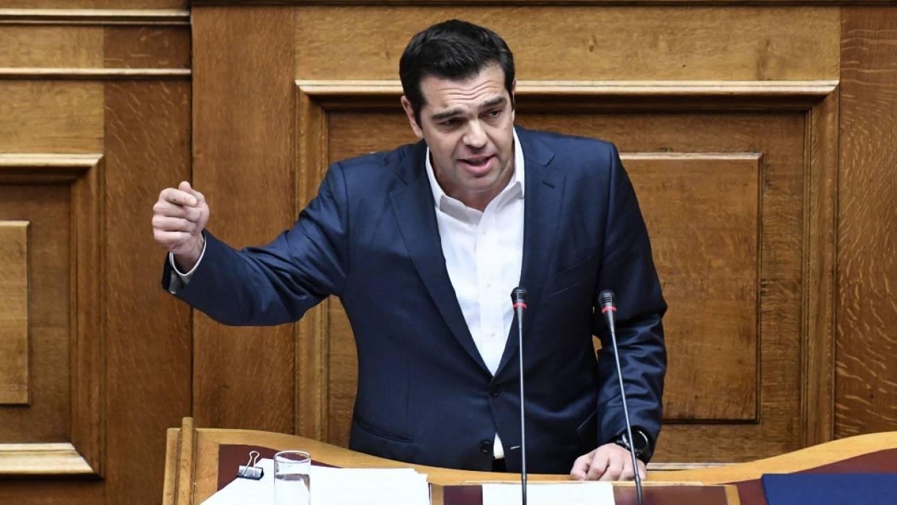 Ο Τσίπρας στον Μητσοτάκη: Δεν μεγάλωσα με στόχο να γίνω πρωθυπουργός (pics)