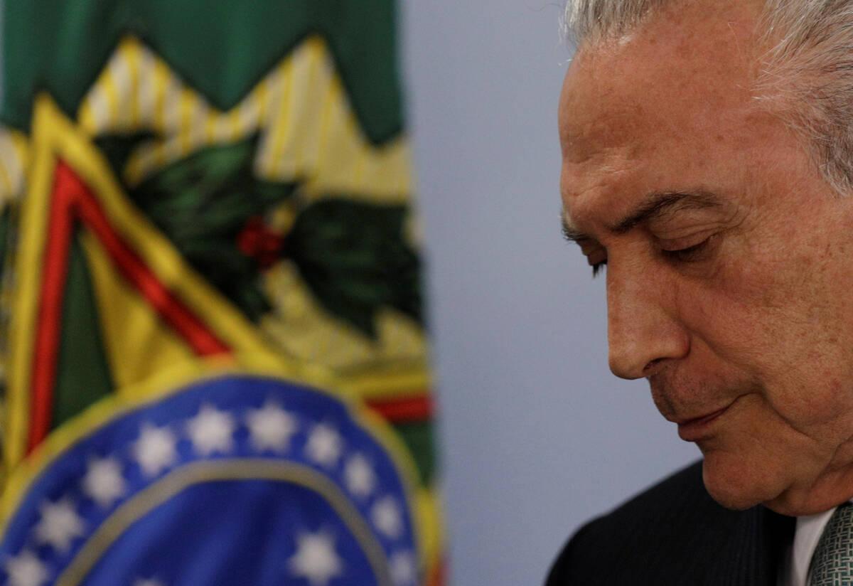 2017 05 18T193152Z 60374512 RC17A1BA92D0 RTRMADP 3 BRAZIL CORRUPTION TEMER