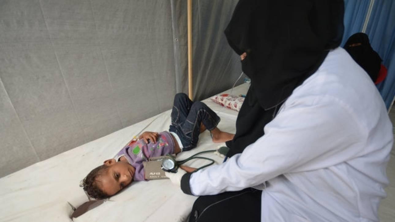 Η χολέρα θερίζει την Υεμένη-Πάνω από 300.000 κρούσματα αναμένονται στο επόμενο 6μηνο (pics)