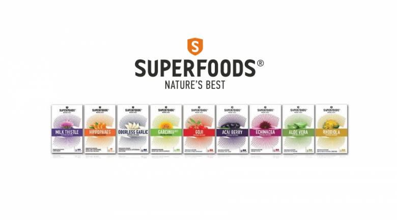 Νέα SUPERFOODS®: Η επιστήμη συνεργάζεται με τη φύση