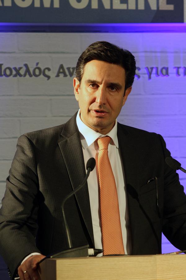 Ο ΓΓ του ΕΟΤ Δημήτρης Τρυφωνόπουλος
