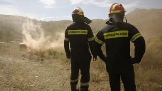 Μεγάλη άσκηση ετοιμότητας της Πυροσβεστικής στον Διόνυσο (pics)