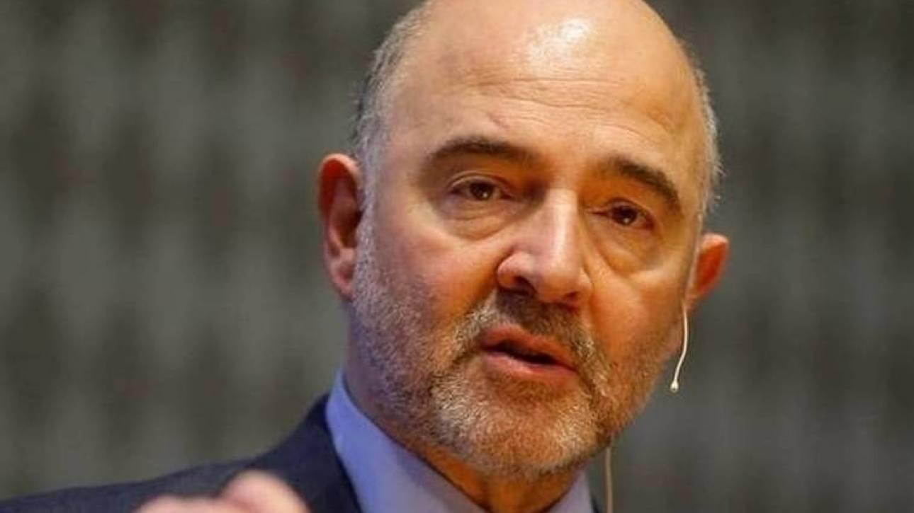 Έκκληση του Μοσκοβισί στους εταίρους της Ελλάδας να καταλήξουν σε συνολική συμφωνία