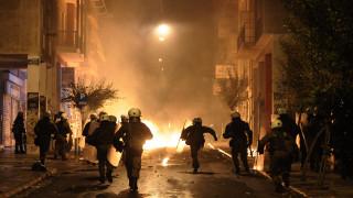 Πεδίο μάχης για άλλη μία φορά το κέντρο της Αθήνας