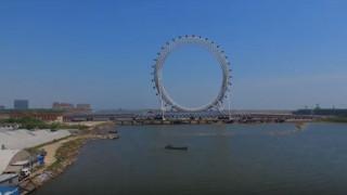 Στην Κίνα η μεγαλύτερη ρόδα στον κόσμο χωρίς ακτίνες (vid)