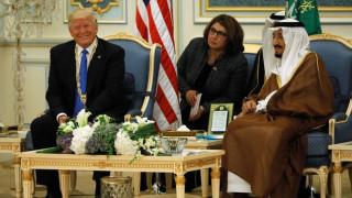 Η επίσκεψη του Ντόναλντ Τραμπ στη Σαουδική Αραβία (pics)