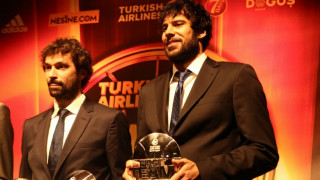 Euroleague F4: Η βράβευση του Πρίντεζη και ο MVP Σέρχιο Γιουλ (vid)