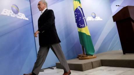 Στην αντεπίθεση περνά ο πρόεδρος της Βραζιλίας