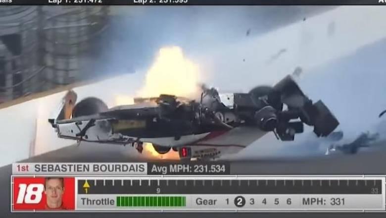 Τα ατυχήματα στα IndyCars είναι σοκαριστικά