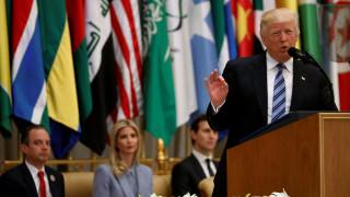 O Τραμπ κάλεσε τον αραβικό κόσμο να απομονώσει το Ιράν