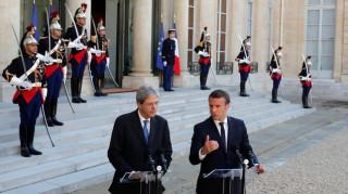 Μακρόν και Τζεντιλόνι θα εργαστούν από κοινού για την επανεκκίνηση της Ευρώπης
