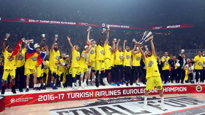 Euroleague F4: Πρωταθλήτρια η Φενέρ, δεν άντεξε ο Ολυμπιακός (vid)
