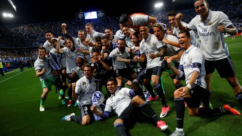 Πρωταθλήτρια Ισπανίας η Ρεάλ Μαδρίτης, εκτός Champions League η Άρσεναλ