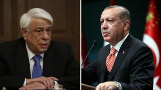 Συνάντηση Παυλόπουλου-Ερντογάν στην Κωνσταντινούπολη
